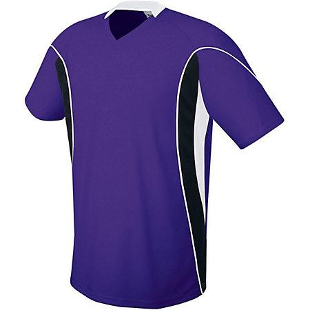 Helix Jersey Purple/black/white Adult Single Soccer & Shorts