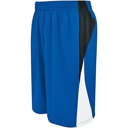 Campus Reversible Shorts Royal/athletic Gold/white Adult Basketball Single Jersey &