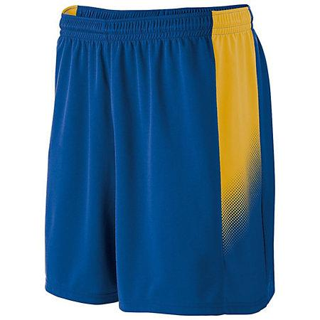 Youth Ionic Shorts Royal / athletic Gold Single Soccer Jersey &