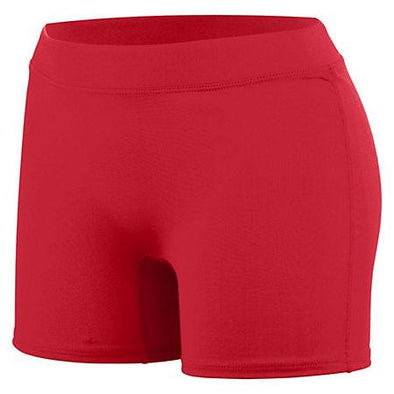 Ladies Enthuse Shorts Red Adult Volleyball