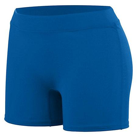 Girls Enthuse Shorts Royal Youth Volleyball