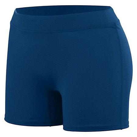 Girls Enthuse Shorts Navy Youth Volleyball