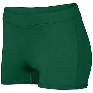 Girls Dare Shorts Dark Green Youth Volleyball