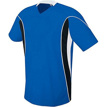 Helix Jersey Royal/black/white Adult Single Soccer & Shorts
