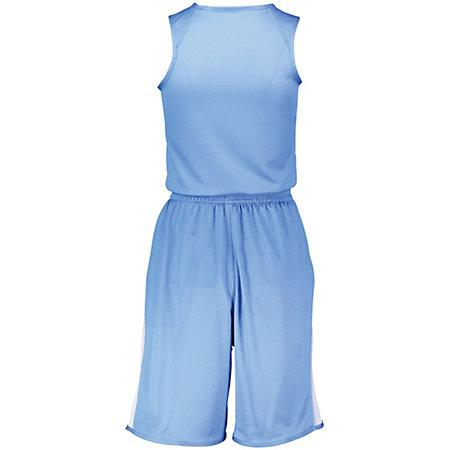 Ladies Undivided Single Ply Reversible Shorts Basketball Jersey &