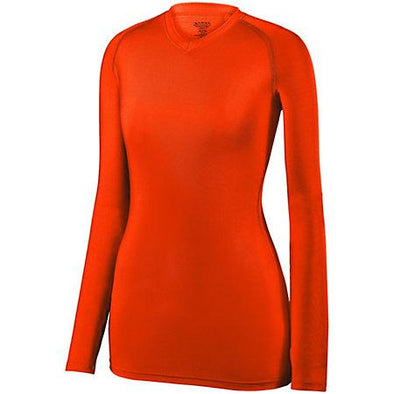 Girls Maven Jersey Orange Youth Volleyball