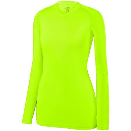 Ladies Maven Jersey Lime Adult Volleyball