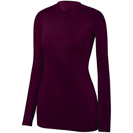 Ladies Maven Jersey Maroon (Hlw) Adult Volleyball