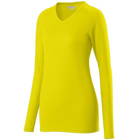 Ladies Assist Jersey Power Yellow Adult Volleyball