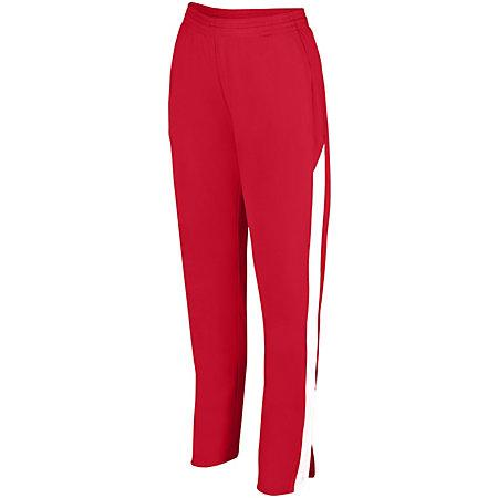 Ladies Medalist Pant 2.0 Red/white Softball