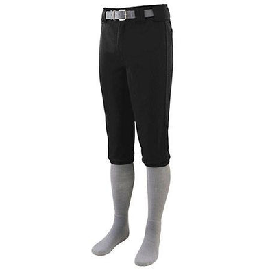 Series Knee Length Baseball Pant Black Adult
