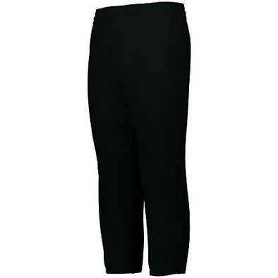 Youth Pull-Up Baseball Pant Black Baseball