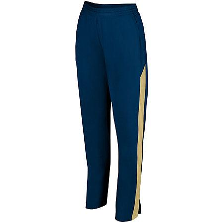 Ladies Medalist Pant 2.0 Navy/vegas Gold Softball