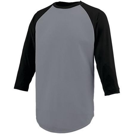 Nova Jersey Graphite/black Adult Baseball