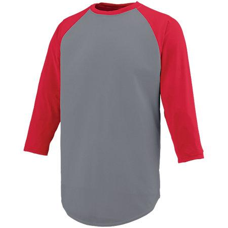 Nova Jersey Graphite/red Adult Baseball
