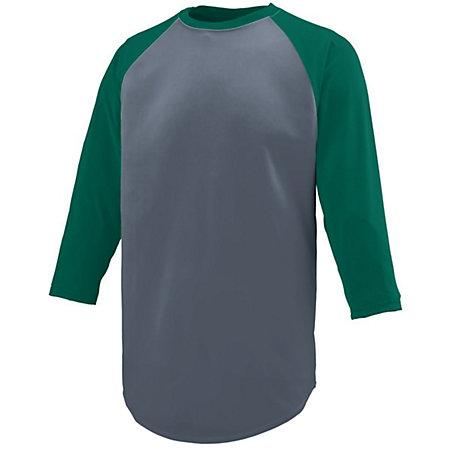 Nova Jersey Graphite/dark Green Adult Baseball