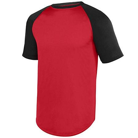 Wicking Short Sleeve Baseball Jersey Adult Baseball