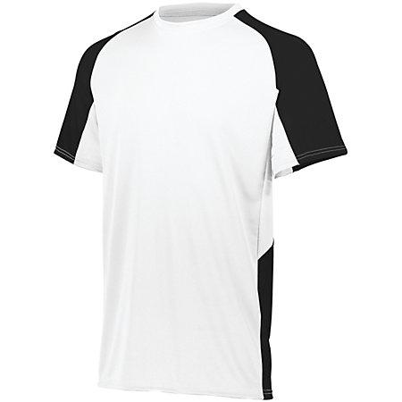 Cutter Jersey White/black Adult Baseball