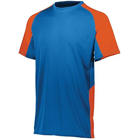 Cutter Jersey Royal/orange Adult Baseball