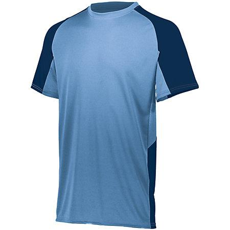 Cutter Jersey Columbia Blue/navy Adult Baseball