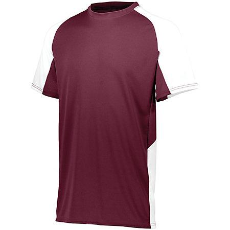 Cutter Jersey Maroon/white Adult Baseball