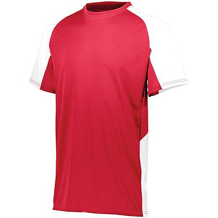 Cutter Jersey Red/white Adult Baseball
