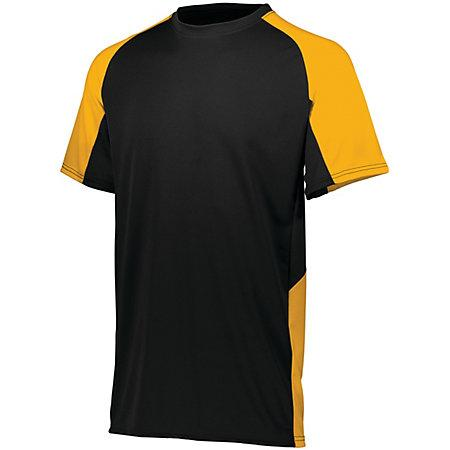 Cutter Jersey Black/gold Adult Baseball