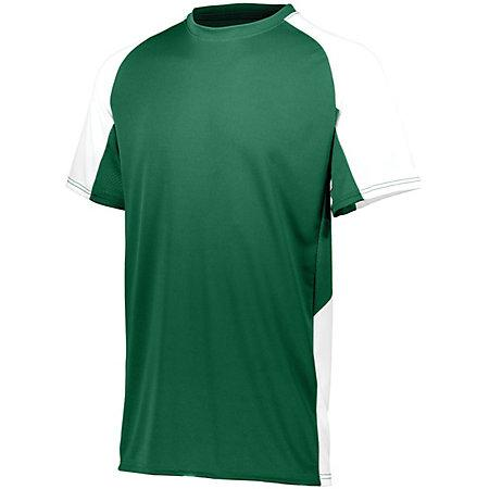 Cutter Jersey Dark Green/white Adult Baseball