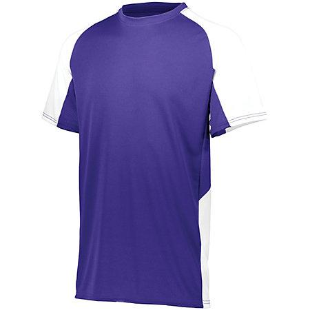 Cutter Jersey Purple/white Adult Baseball