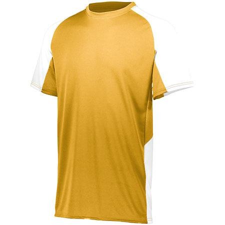 Youth Cutter Jersey Athletic Gold / blanco Béisbol
