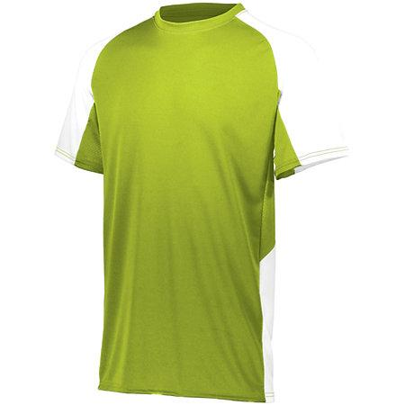 Youth Cutter Jersey Lime/white Baseball