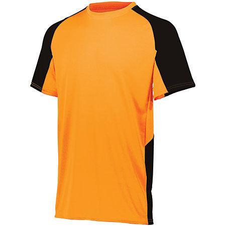 Youth Cutter Jersey Power Naranja / negro Béisbol