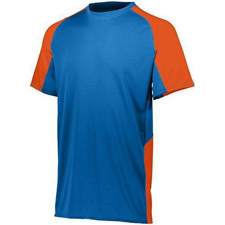 Youth Cutter Jersey Royal / orange Baseball