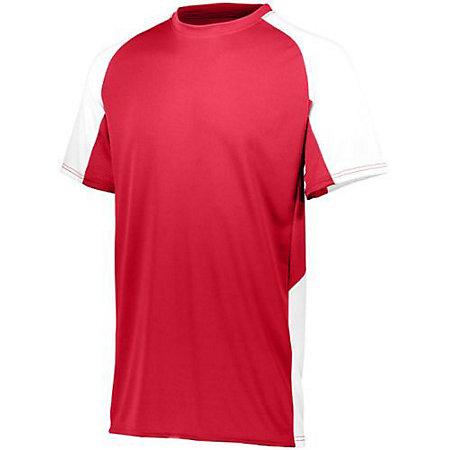 Youth Cutter Jersey Red / white Baseball