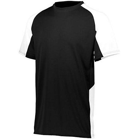 Youth Cutter Jersey Black / white Baseball