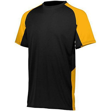 Youth Cutter Jersey Black / gold Baseball