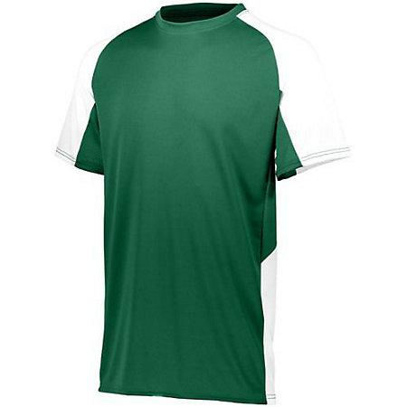 Youth Cutter Jersey Dark Green/white Baseball