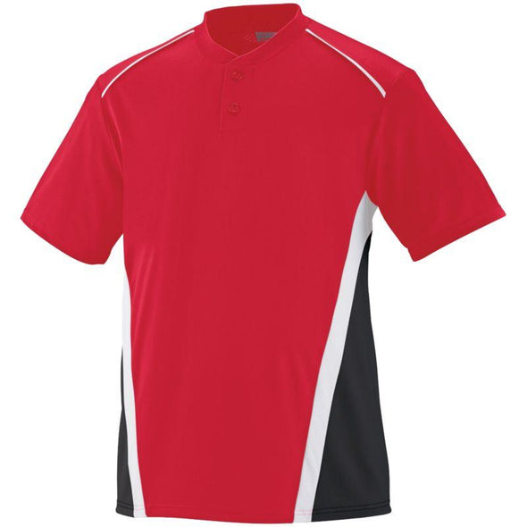 Rbi Jersey Red/black/white Adult Baseball