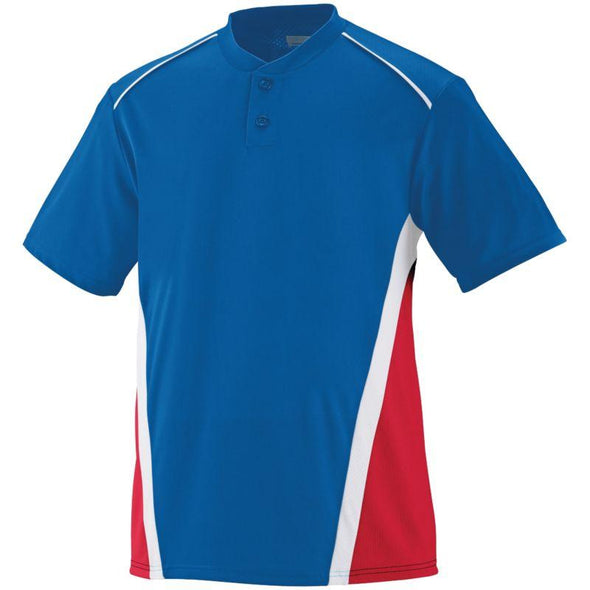 Rbi Jersey Royal/red/white Adult Baseball