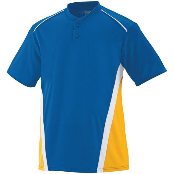 Rbi Jersey Royal/gold/white Adult Baseball