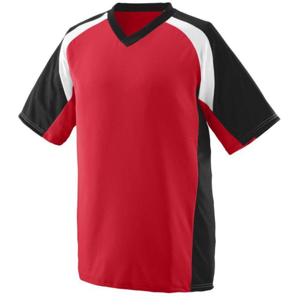 Youth Nitro Jersey Red/black/white Baseball