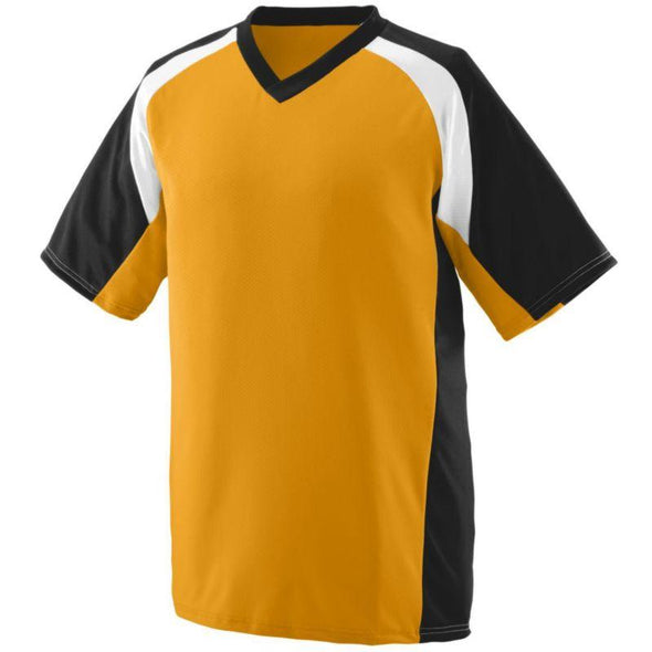 Youth Nitro Jersey Gold/black/white Baseball
