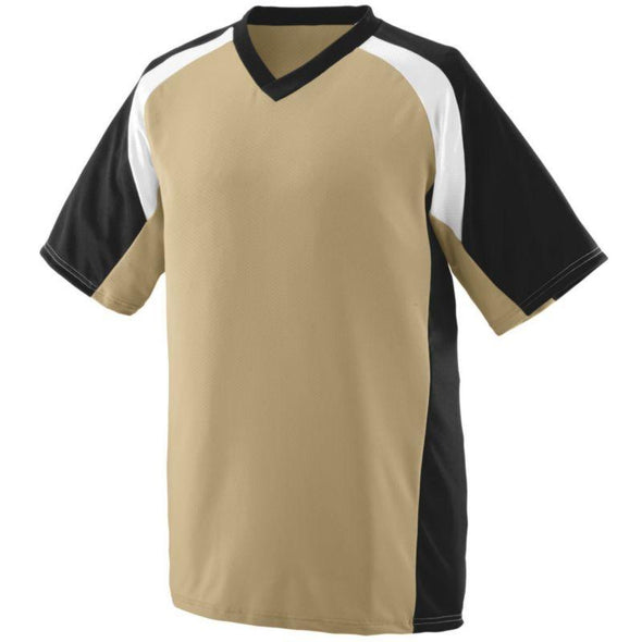 Youth Nitro Jersey Vegas Gold/black/white Baseball