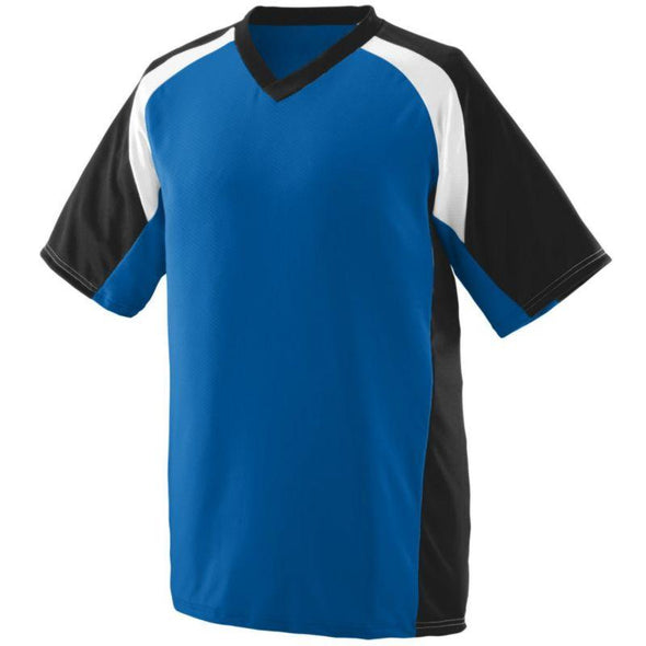 Youth Nitro Jersey Royal/black/white Baseball