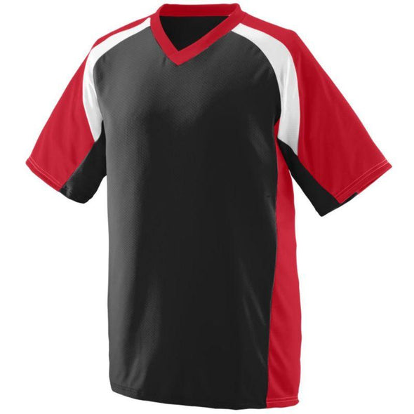 Youth Nitro Jersey Black/red/white Baseball