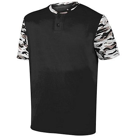 Youth Pop Fly Jersey Black/black Mod Baseball
