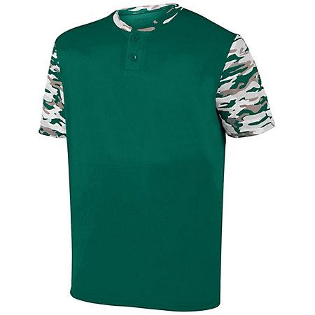 Youth Pop Fly Jersey Dark Green/dark Green Mod Baseball