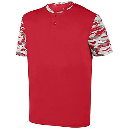 Youth Pop Fly Jersey Red/red Mod Baseball