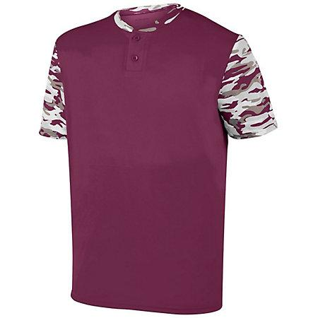Youth Pop Fly Jersey Maroon/maroon Mod Baseball