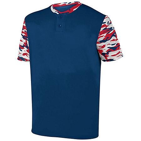 Youth Pop Fly Jersey Navy/red Navy Mod Baseball
